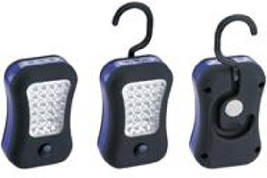 LED Zaklamp 24+4 LEDs inclusief Batterijen