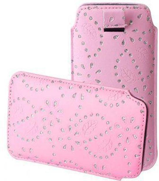 Bling Bling Sleeve voor uw Kurio 4s Touch, Roze, merk i12Cover