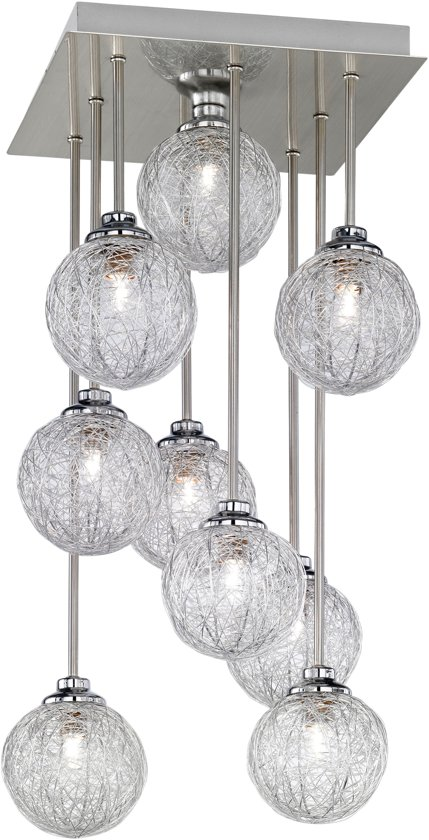 plafondlamp halogeen trendy plafondlamp belina lampen