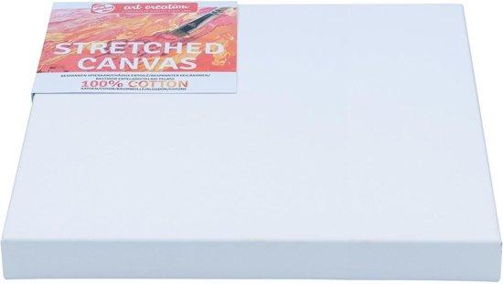 8x Talens Art Creation bespannen spieraam katoen 3D 30x30cm