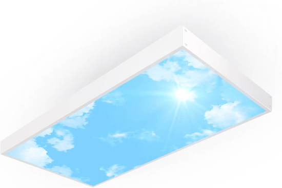 easy daylight panel wolkenplafond lamp