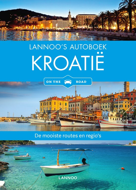 Lannoo's autoboek - Kroatië on the road cover
