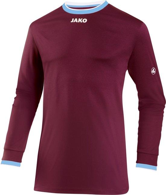 Jako United LM - Voetbalshirt - Mannen - Maat S - Rood donker