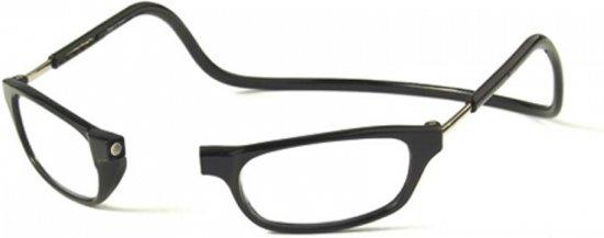 Clic Leesbril zwart +1.5