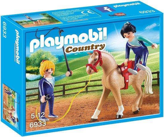 PLAYMOBIL Voltigeteam met paard  - 6933