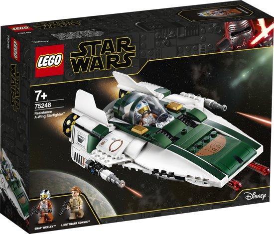 Afbeelding van LEGO Star Wars Resistance A-Wing Starfighter - 75248 speelgoed