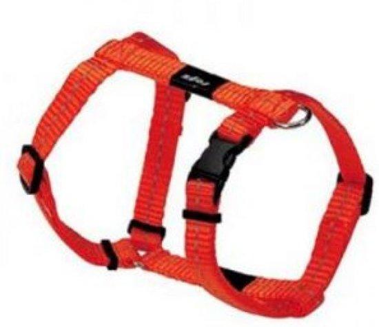 Rogz For Dogs Snake Hondentuig - Oranje - 16 mm x 32-52 cm