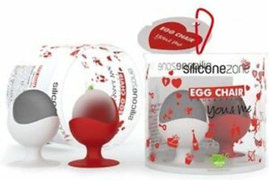 Silicone Zone G&T eierdop giftset met peper en zout set van 4