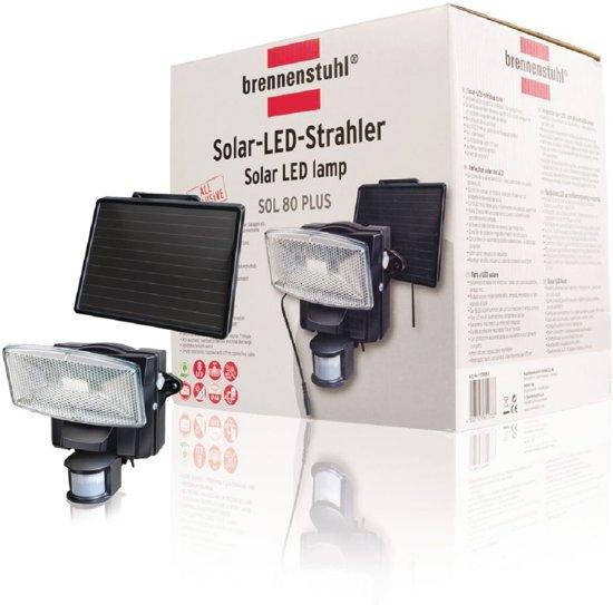 Brennenstuhl Gevelverlichting Solar LED lamp 8 LED's