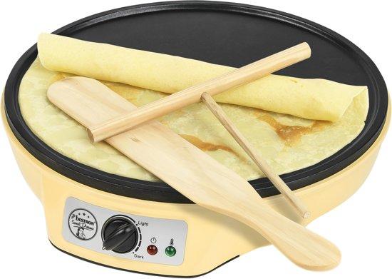 Bestron crepemaker 1000 W Vanille ASW602