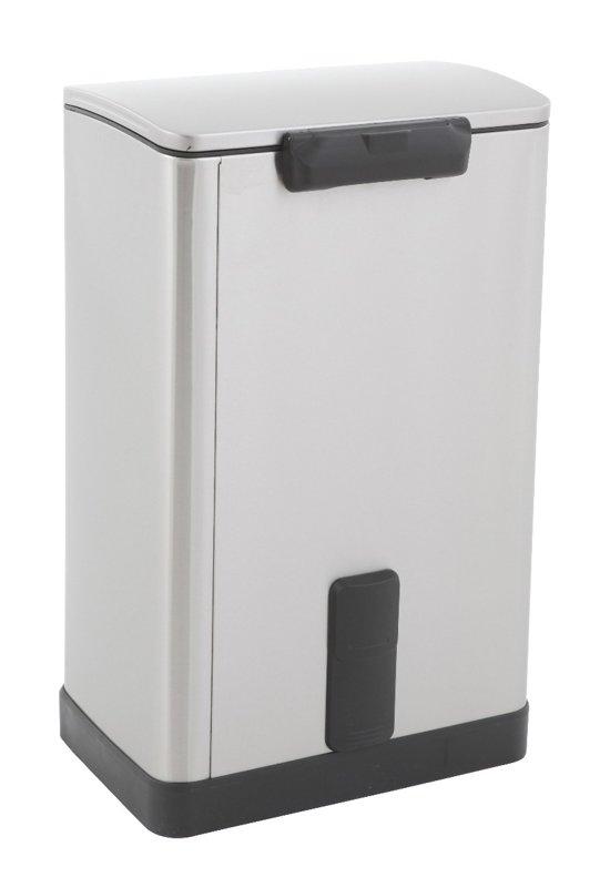 EKO Pedaalemmer Rechthoekig 40 Liter