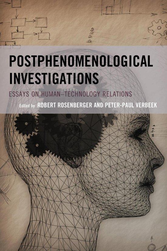 Boek cover Postphenomenological Investigations van Don Ihde, Stony Brook University (Onbekend)