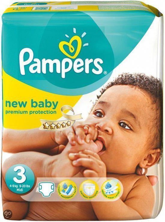 Pampers Baby luier New Baby maat 3 - 132 stuks