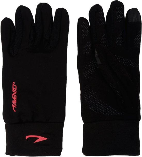 Avento Sporthandschoenen met Touchscreen Tip - Dames - Zwart/Roze - S/M