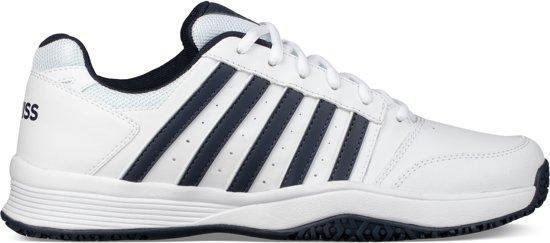 6f40b784aef bol.com | K•Swiss COURT SMASH OMNI - WHITE/NAVY - Tennisschoenen
