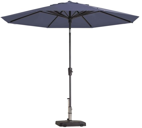 Madison Parasol Paros rond 300 cm saffierblauw