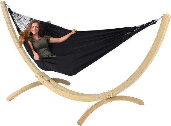 Hangmat Tweepersoons 'Comfort' Black