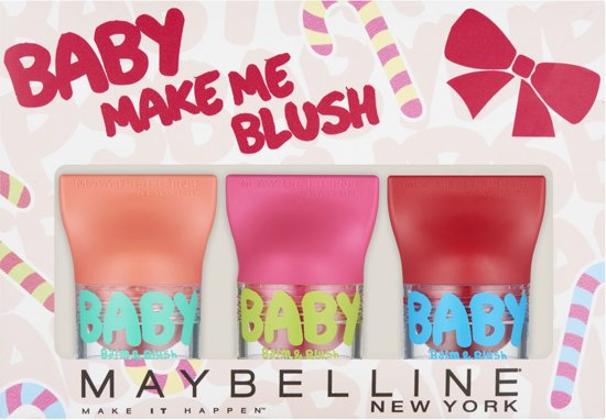 Maybelline Baby Lips - Baby Make Me Blush - Make-up Geschenkverpakking