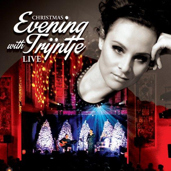 CD cover van Christmas Evening with Trijntje: Live van Trijntje Oosterhuis
