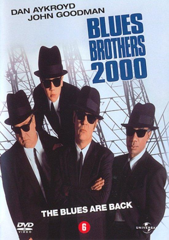 DVD cover van BLUES BROTHERS 2000 (D)