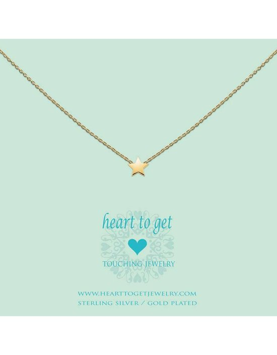 Heart to get Initial, silver, symbol star