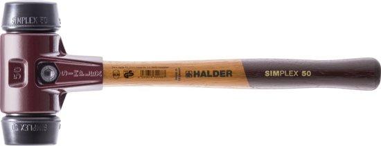 Kunst. hamer SIMPLEX 30mm rubber, Halder