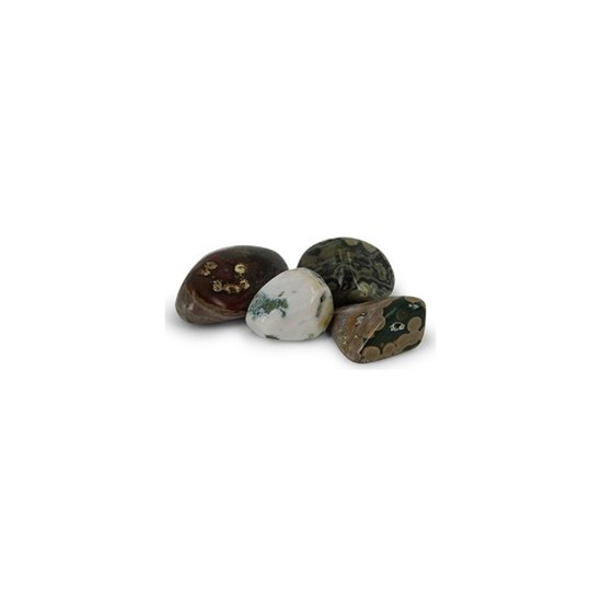 Trommelstenen Jaspis Oceaan (10-20 mm) - 50 gram