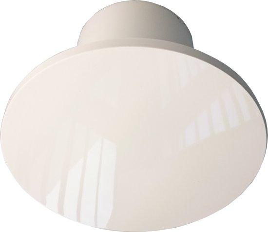 SENCYS ventilator design ZONDER timer voor muur of plafond, Ø 100 mm | wit