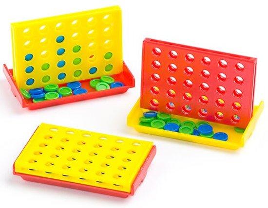 Afbeelding van het spel Mini 4-op-een-rij  (6 stuks per verpakking)