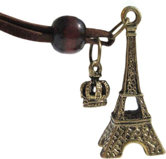 Eiffeltoren ketting - Dames - Staal - 45 cm