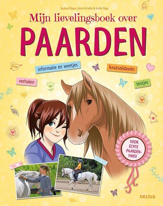 Boek cover Mijn lievelingsboek over paarden van Gudrun Braun (Hardcover)