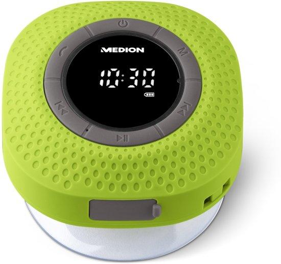 MEDION® LIFE E66554 Bluetooth Douche Radio (groen)