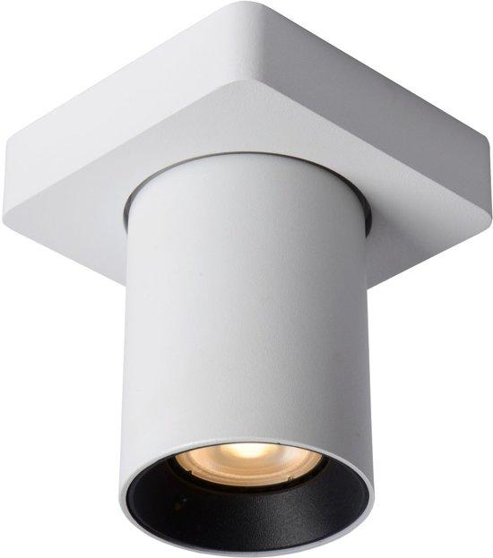 Lucide NIGEL Plafondspot - LED Dim to warm - GU10 - 1x5W 2200K/3000K - Wit