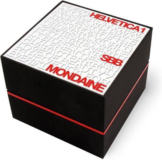 Mondaine Helvetica No 1 Regular Date Horloge 33 mm