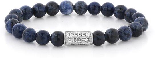 Rebel&Rose armband - Midnight Blue - 8MM L (19CM)