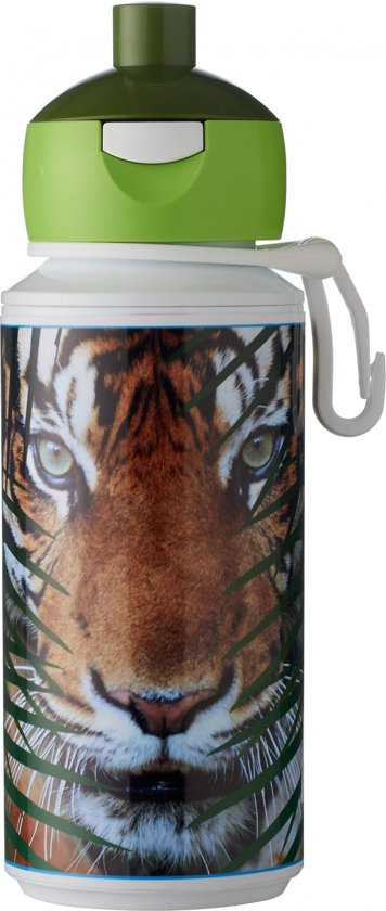 Rosti Mepal Animal Planet Pop-up Beker 275 Ml Tijger