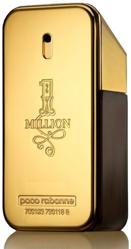 MULTI BUNDEL 2 stuks Paco Rabanne One Million Eau De Toilette Spray 50ml