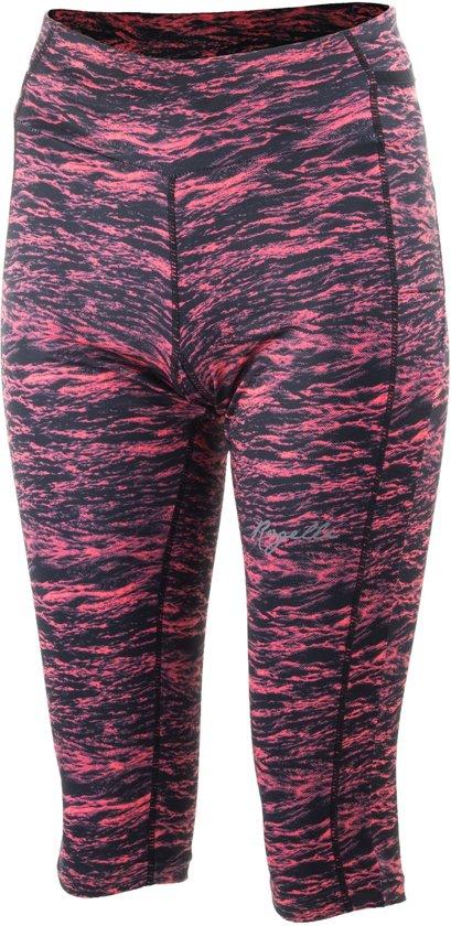 Rogelli Joy Capri  Sportbroek - Maat L  - Vrouwen - zwart/roze