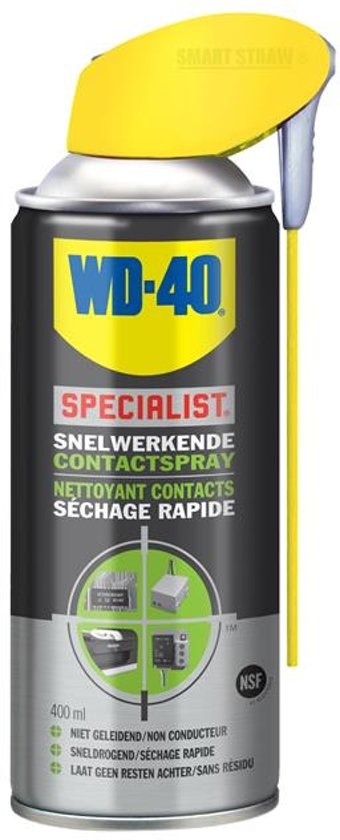 Beroemd bol.com | WD-40 Contactspray - Smart Straw - 400ml FS43