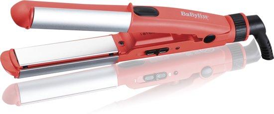 Babyliss H110E Compacte 2-in-1 Krul- en Stijltang - Roze