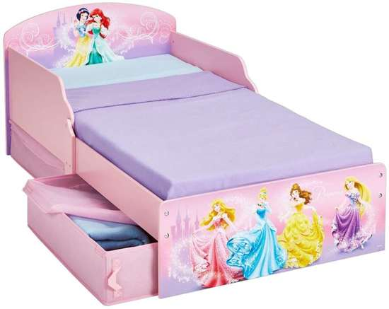 Peuterbed Met Matras : Bol disney princess peuterbed met laden en matras
