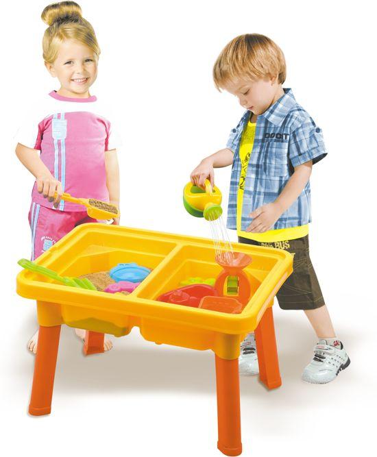 Afbeelding van Zand en water tafel incl 10 accessoires speelgoed