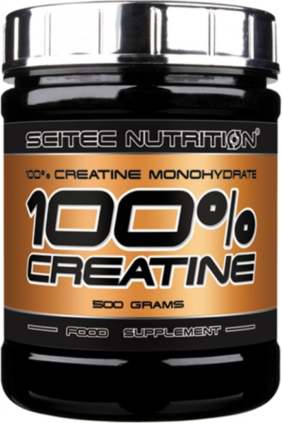Scitec Nutrition - 100% Creatine - 100% Creatine Monohydrate - Poeder - 500 gram - 100 porties