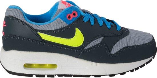 Nike Sportswear Air Max 1 - Sneakers - Kinderen - Maat 38 - Grijs/Blauw