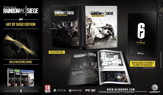 Rainbow Six: Siege Art Of Siege Edition - Xbox One