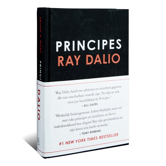 Boek cover Principes van Ray Dalio (Hardcover)