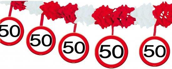 50 jaar slingers bol.| Verkeersbord slinger 50 jaar 4 mtr, Folat | Speelgoed 50 jaar slingers