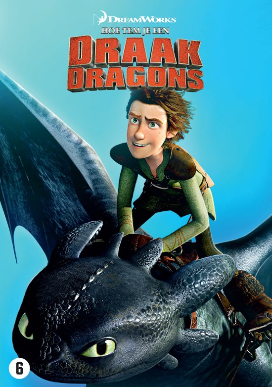 DVD cover van How To Train Your Dragon (Hoe Tem Je Een Draak)