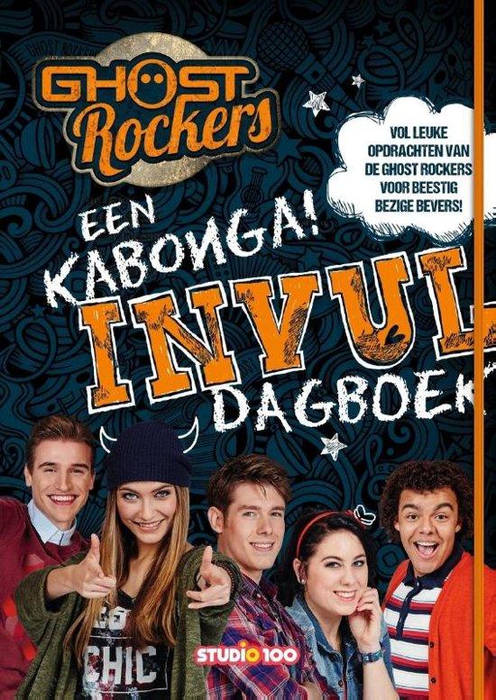 Ghost Rockers - Mijn Kabonga invulboek