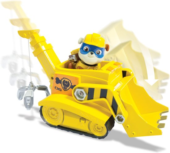 Bolcom Paw Patrol Basic Vehicles Rubble Paw Patrol Speelgoed
